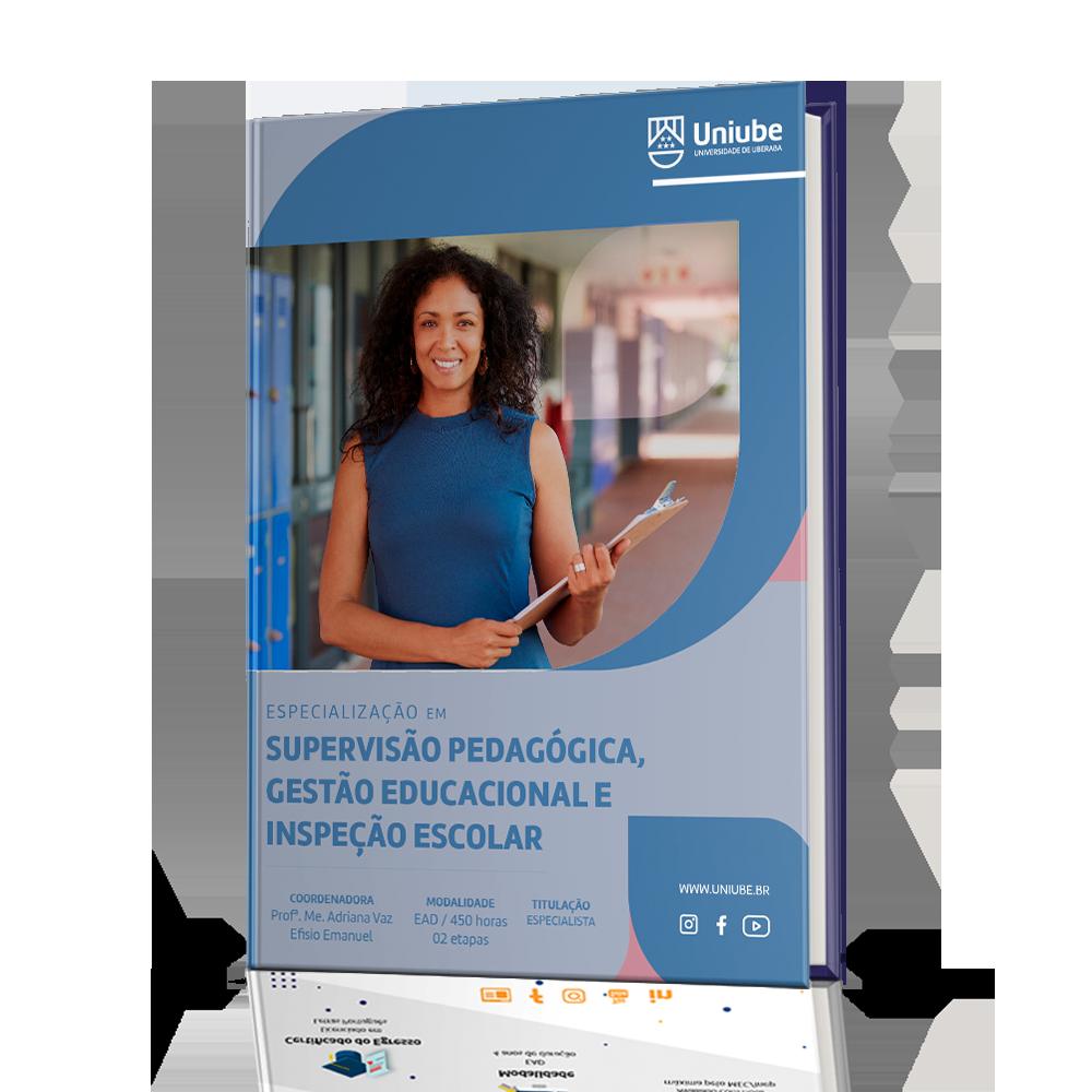 Especialização em Supervisão Pedagógica, Gestão Educacional e Inspeção Escolar